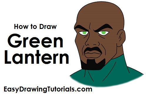 How to Draw Green Lantern