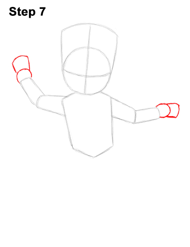 How to Draw Baby Groot Full Body Guardians of the Galaxy 7