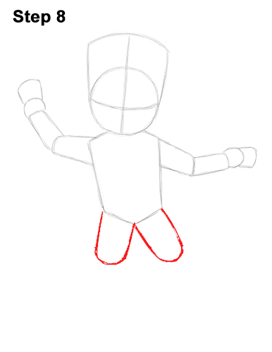 How to Draw Baby Groot Full Body Guardians of the Galaxy 8