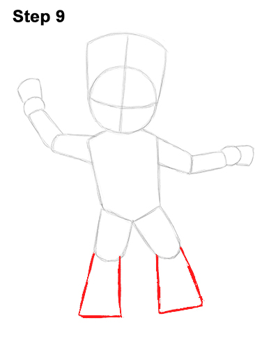 How to Draw Baby Groot Full Body Guardians of the Galaxy 9