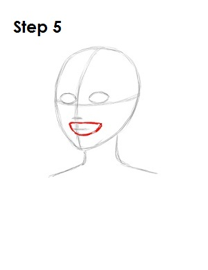 How to Draw Harley Quinn Step 5