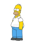 How to Draw Homer Simpson Full Body