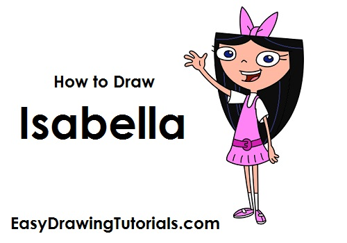 How to Draw Isabella