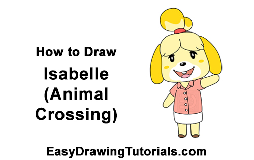 How to Draw Isabelle Animal Crossing Nintendo