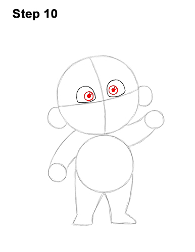 How to Draw Jack Jack Cute Baby Incredibles 10