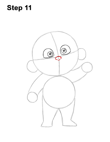 How to Draw Jack Jack Cute Baby Incredibles 11