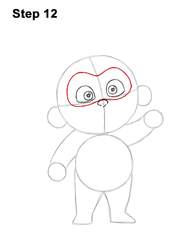 How to Draw Jack Jack Cute Baby Incredibles 12