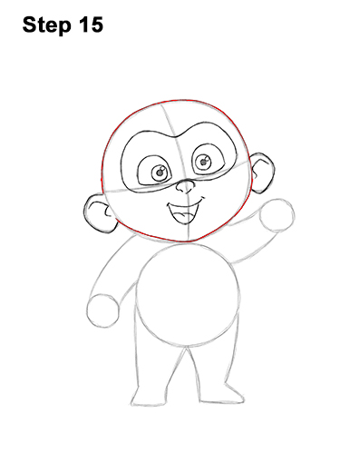 How to Draw Jack Jack Cute Baby Incredibles 15