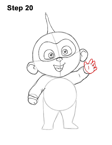 How to Draw Jack Jack Cute Baby Incredibles 20