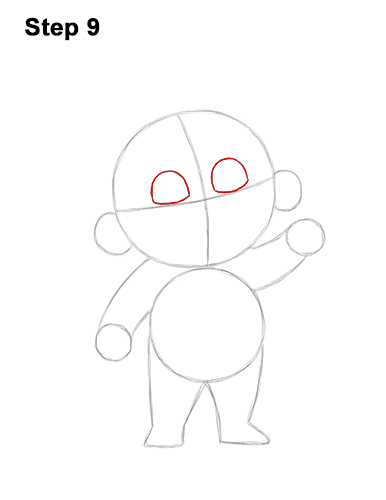 How to Draw Jack Jack Cute Baby Incredibles 9