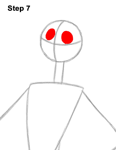 How to Draw Jack Skellington Nightmare Before Christmas Full Body 7