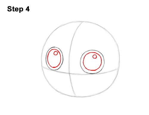 How to Draw Cute Jigglypuff Pokemon 4