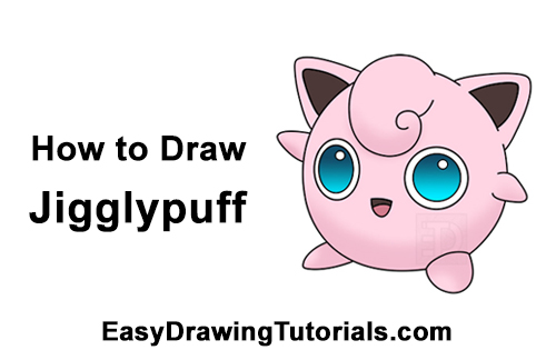 How To Draw Jigglypuff Pokemon Step By Step Pictures