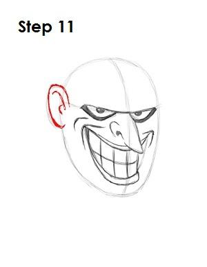 Draw the Joker Step 11