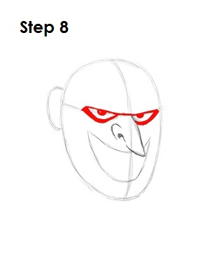 Draw the Joker Step 8