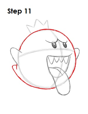 Draw King Boo 11