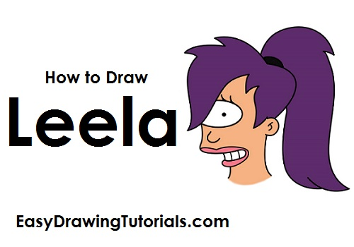 How to Draw Leela Futurama