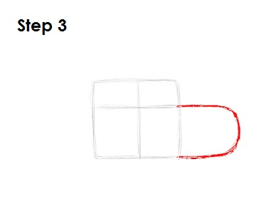 Draw Lightning McQueen Step 3