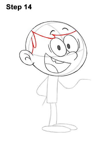 How to Draw Lincoln Loud House 14