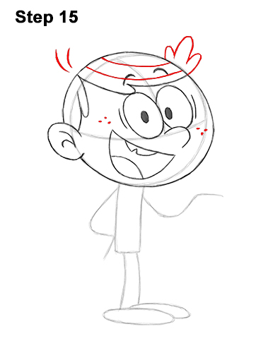 How to Draw Lincoln Loud House 15