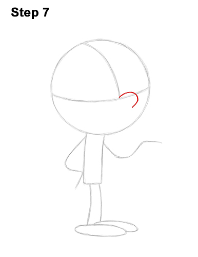 How to Draw Lincoln Loud House 7