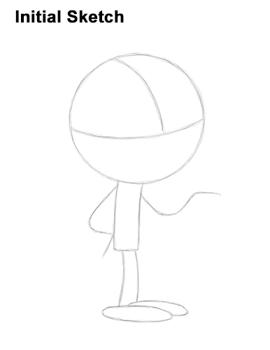 How to Draw Lincoln Loud House Guide Lines