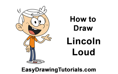 How to Draw Lincoln Loud House