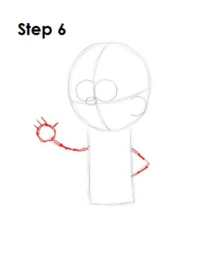 How to Draw Mabel Pines Step 6