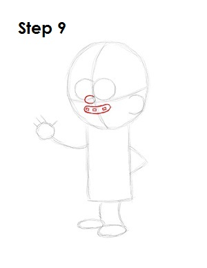 How to Draw Mabel Pines Step 9