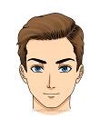 How to Draw Manga Man Side Part Parted Hairstyle Hairstyle