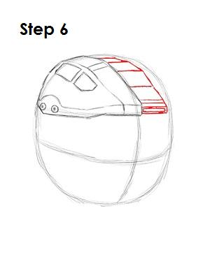 How to Draw Master Chief Step 6