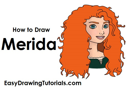 How to Draw Merida Brave