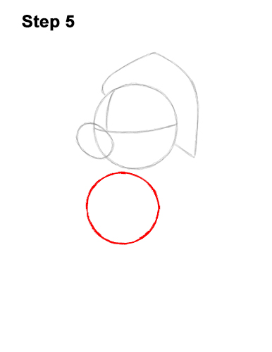 How to Draw Mickey Mouse  Christmas Santa Claus 5