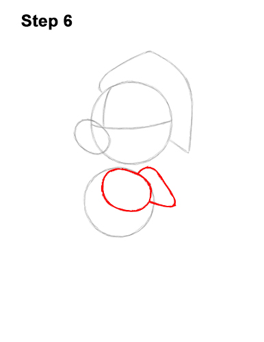 How to Draw Mickey Mouse  Christmas Santa Claus 6
