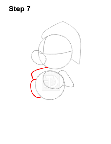 How to Draw Mickey Mouse  Christmas Santa Claus 7