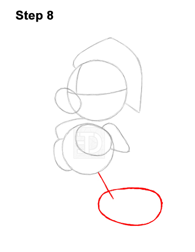 How to Draw Mickey Mouse  Christmas Santa Claus 8