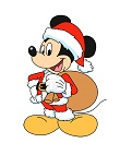 How to Draw Mickey Mouse Christmas Santa Claus