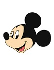 How to Draw Disney Mickey Mouse Head