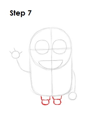 How to Draw a Minion Step 7