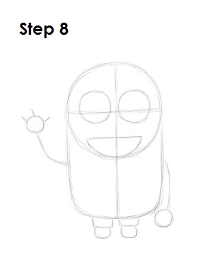 How to Draw a Minion Step 8