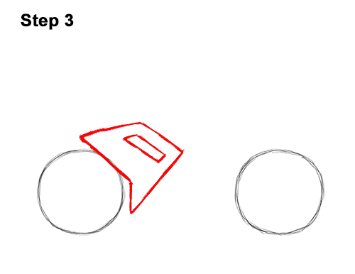 How to Draw Cartoon Sport Bike Motorcycle 3