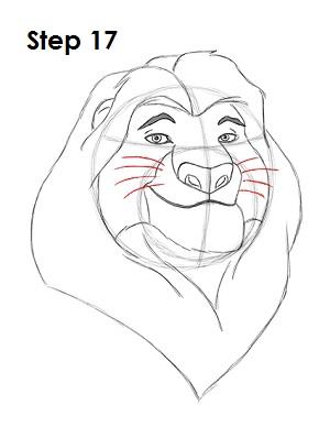 Draw Mufasa 17