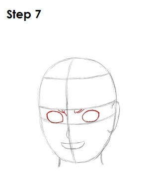 How to Draw Naruto Step 7