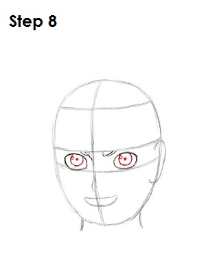 How to Draw Naruto Step 8