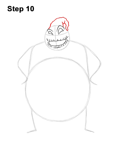 How to Draw Halloween Oogie Boogie Nightmare Before Christmas 10