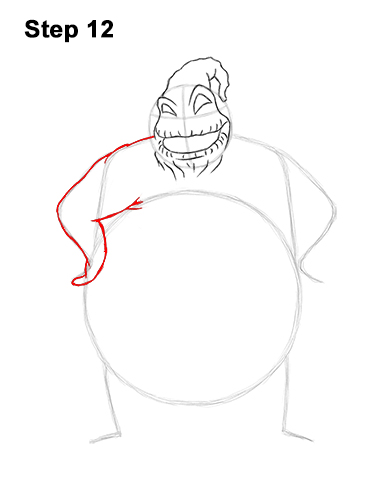 How to Draw Halloween Oogie Boogie Nightmare Before Christmas 12