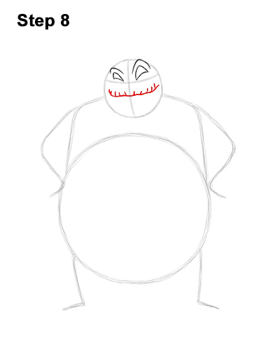 How to Draw Halloween Oogie Boogie Nightmare Before Christmas 8