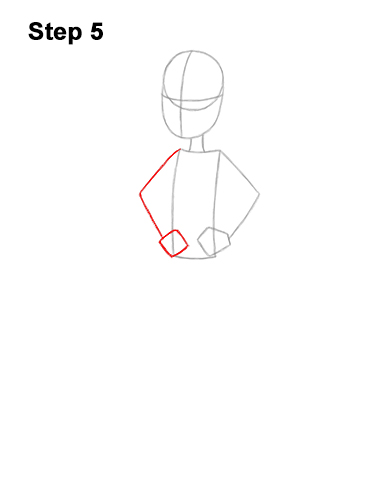 How to Draw Pearl Steven Universe Full Body 5