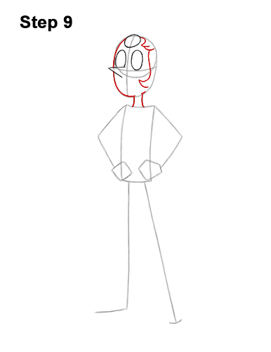 How to Draw Pearl Steven Universe Full Body 9