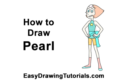 How to Draw Pearl Steven Universe Full Body